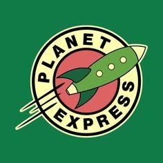 Awesome 'Futurama+Planet+Express' design on TeePublic!