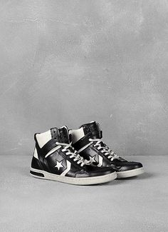 Birthday coming up. ;)  Leather Weapon High-Top