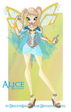 Winx: Alice Bloomix by DragonShinyFlame