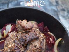 Mediterranean Inspired Garlic Encrusted Lamb - American Lamb