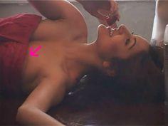 Anushka Sharma something peeping out while photoshoot