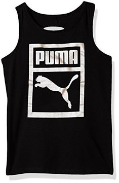 c8909b6a13a PUMA Big Girls' Heritage Twist Back Tank - PUMA, a Global athletic brand,  provides consumers with innovative products that successfully fuses the  creative ...