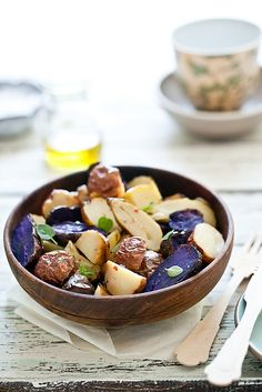 Simple Roasted Potato Salad with Oregeno (or sub rosemary/thyme)