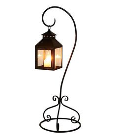 Wonderful Foreside Home And Garden Metal Black Lantern With Stand