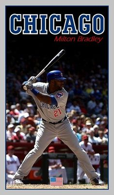 Milton Bradley, Chicago Cubs, Golf Clubs, Baseball Cards, Sports, Photos, Hs Sports, Pictures, Sport
