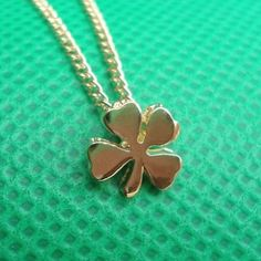 P.S. I Love You More Boutique | Lucky 4 Leaf Clover Necklace | Online Store Powered by Storenvy