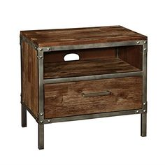 Arcadia Industrial Wood and Metal 1 Drawer Night Stand with Shelf and Cord Access for Charging Devices Coaster Home Furnishings http://www.amazon.com/dp/B013UNKCI8/ref=cm_sw_r_pi_dp_eYNYwb1GAQ1DT