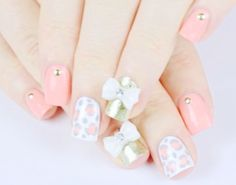 How to Make Cute 3D Bow Nails