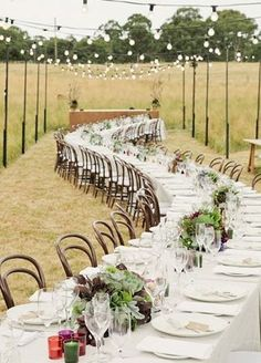 Country long table