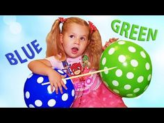 Learn Colors with Body Paint | Toes and Nursery Rhymes for Kids - YouTube