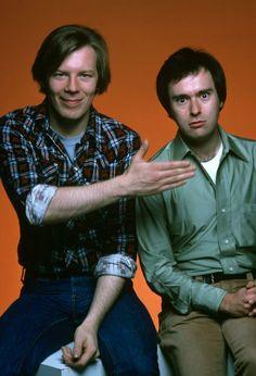 David L. Lander and Michael McKean in Laverne & Shirley (1976)
