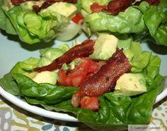 B.A.T. Crazy Lettuce Wraps (my alternative to the B.L.T.)  #paleo #whole30 #backtobasics