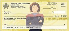 Women of Star Trek checks