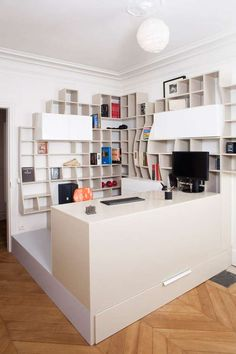 27 Bodacious Bookcases - From Convertible Bookcases to Circular Bookshelves (CLUSTER)