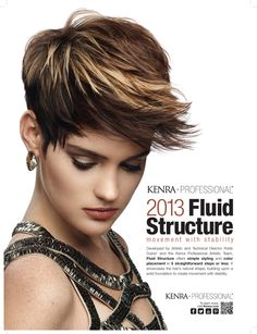 Fluid Structure 2013 Kenra Artistic Campaign!  | Kenra Professional Hair
