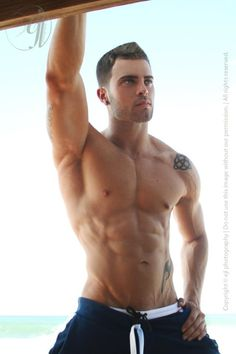 ManWatch: ANDREW CORVIN -- this site has lots of pictures of this guy that it was tough choosing only one.