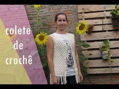 Crochet Summer Tops, Crochet Designs, T Shirts For Women, Youtube, Blog, Dresses, Fashion, Knit Vest, Crochet Coat