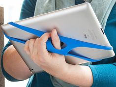 Tablet Hand Strap by Padlette