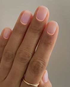 Cute Gel Nails, Chic Nails, Stylish Nails, Pretty Nails, Short Gel Nails, Subtle Nails, Blue Matte Nails, French Tip Nails, Reverse French Manicure