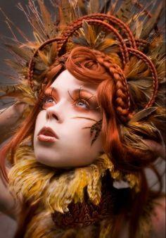Ah mazing make up... And FABulous photo