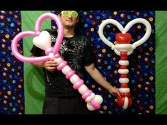 Moon Wands Balloon Twisting Lunar Scepter Beautiful! - YouTube