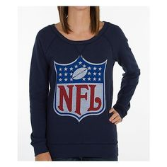 Junk Food NFL Sweatshirt ($48) ❤ liked on Polyvore