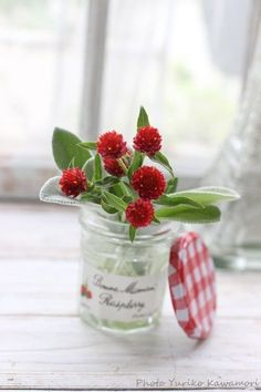 ❤️ Fake Flowers, Green Flowers, Beautiful Flowers, My Flower, Flower Vases, Beautiful Flower Quotes, Bouquet Champetre, Farm House Colors, Red Cottage