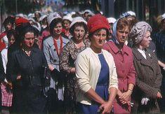 Ireland Women taking part in a Corpus Christi Procession in Cahir, Co. Date: Thursday, 13 June 1963 Irish People, Al Capone, Dublin City, Irish Men, Corpus Christi, Back In The Day, 1960s, Ireland, Mens Fashion