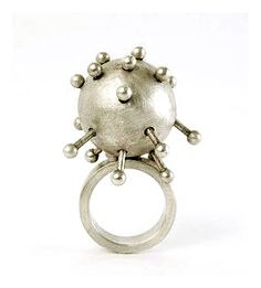 Cecilia Richard - Asomador II (Something that pokes out II) - Ring - Silver, 2007