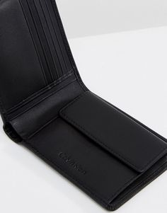 Calvin Klein   Кожаный бумажник с кармашком для мелочи Calvin Klein 5CC