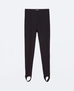 Image 5 of TECHNICAL FABRIC LEGGINGS from Zara