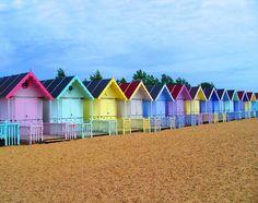 Color en la playa