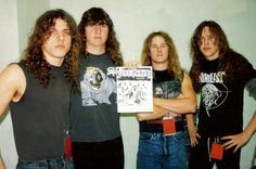 Chuck Schuldiner, Terry Butler, Bill Andrews e James Murphy