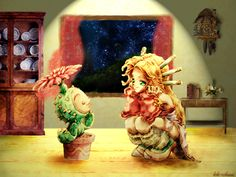 Illluminost: Quotes of the Day #26 - Legend of Mana -- Pokiehl the Storyteller