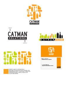 #diseñologo #catman #identity #branding #logo