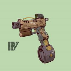 Anime Weapons, Sci Fi Weapons, Fantasy Weapons, Weapons Guns, Robot Concept Art, Weapon Concept Art, Steampunk Weapons, Future Weapons, Fallout New Vegas