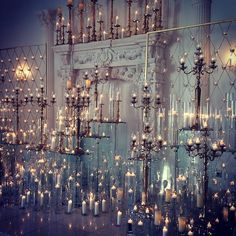 Definitely one of our favorite alter designs to date! Can't wait to see pictures of the beautiful bride and groom in front of this stunning display of candles #thejameslovestory @occasionsbyaudi @chateaucocomar #weddings #ceremony #floraeventi #candles #candelabra #weddingsinhouston #houstonweddings #chateacocomar