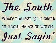 Exactly - stop telling me it's a speech problem! I was raised by southerners! I  don't even hear the difference