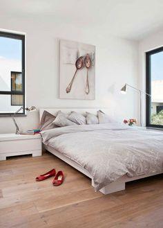 חדר שינה הורים עם טוויסט של תמונה מקורית