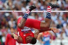 Eric Kynard atletaren galtzerdiak