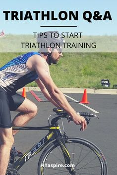 Want to try your first triathlon? My tips to get started with training this season- workout guidance & free resources! // Triathlon Q&A Series