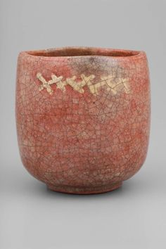 Tea bowl, Japanese Edo period 18th century Raku Chônyû (Japanese, 1714–1770)
