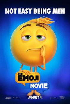 The Emoji Movie Gets Character Posters