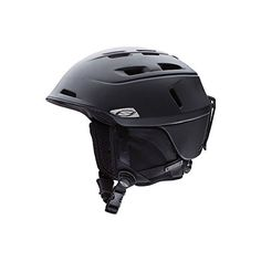 Smith Optics Camber Adult Ski Snowmobile Helmet  Matte Black  Small -- Check this awesome product by going to the link at the image. (This is an affiliate link and I receive a commission for the sales) #AdultSki Helmet