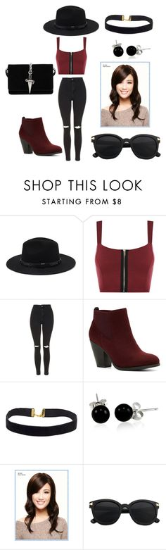 """""""edgy hipster"""" by ilovebtr1801 ❤ liked on Polyvore featuring Forever 21, WearAll, Topshop, Call it SPRING, Bling Jewelry, Wigs2You and Cesare Paciotti"""