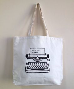 Dear New York tote bag - cool for beach stuff, or summer books