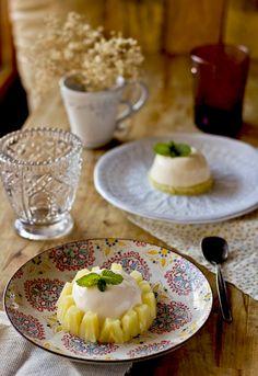 """Receta 1065: Bavaroise de piña (de lata) » 1080 Fotos de cocina  - proyecto basado en el libro """"1080 recetas de cocina"""", de Simone Ortega. http://www.alianzaeditorial.es/minisites/1080/index.html"""