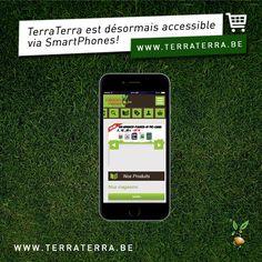 Depuis quelques semaines, le site de www.terraterra.be est disponible en « responsive design ». Vous pouvez désormais facilement visionner et commander via votre SmartPhone ou Tablette.