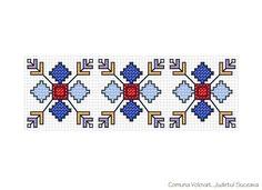 COMUNA VOLOVAT, JUDETUL SUCEAVA Blackwork Embroidery, Folk Embroidery, Cross Stitch Embroidery, Embroidery Patterns, Cross Stitch Patterns, Russian Cross Stitch, Wedding Day Timeline, Stone Crafts, Quilt Blocks