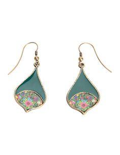 Desigual - Boucles d'oreilles pendantes - Métal - 61G55M64063U: Amazon.fr: Bijoux